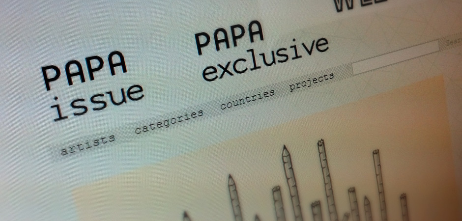 My works at Papa Issue (Spain)